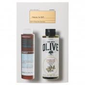 Korres Men's Promo Pack Pure Greek Olive Αφρόλουτρο με Ελιά & Κέδρο 250ml & After shave με Καλέντουλα & Ginseng 200ml