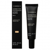 Korres Activated Charcoal Corrective Foundation SPF15 ACF2 30ml
