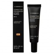 Korres Activated Charcoal Corrective Foundation SPF15 ACF4 30ml