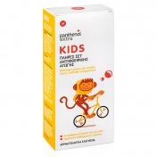 Panthenol Extra Kids Πλήρες Σετ Αντιφθειρικής Αγωγής (Lotion 125ml + Shampoo 300ml + Χτενάκι)