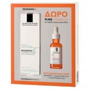 La Roche Posay Promo Pack Redermic C Anti-Wrinkle Firming Moisturising Filler 40ml με ΔΩΡΟ Pure Vitamin C Serum 10ml