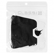 CLASSIC MASK Υφασμάτινη Μάσκα Πολλαπλών Χρήσεων (Μαύρη)