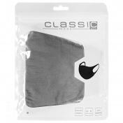 CLASSIC MASK Υφασμάτινη Μάσκα Πολλαπλών Χρήσεων (Γκρι)