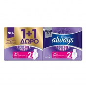 Always Always Platinum Ultra Super Size 2 7τμχ - Promo Pack 1+1 ΔΩΡΟ
