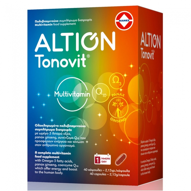 Altion Tonovit 40caps