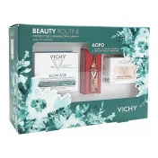 Vichy Promo Pack Slow Age Face Cream SPF30 50ml & ΔΩΡΟ Double Glow Peel Mask 15ml & Liftactiv Glyco-C Night Peel Αμπούλα 2ml