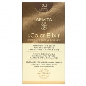 Apivita My Color Elixir Μόνιμη βαφή Μαλλιών N10.3 Κατάξανθο Χρυσό