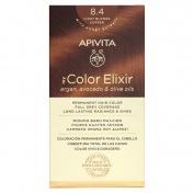 Apivita My Color Elixir Μόνιμη βαφή Μαλλιών N8.4 Ξανθό Ανοιχτό Χάλκινο