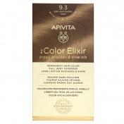 Apivita My Color Elixir Μόνιμη βαφή Μαλλιών N9.3 Ξανθό Πολύ Ανοιχτό Χρυσό
