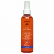 Apivita Bee Sun Safe  Satin Touch Tan Perfecting Body Oil SPF30 200ml