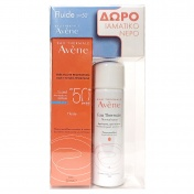 Avene Promo Pack Fluide Dry Touch SPF50+ 50ml & ΔΩΡΟ Eau Thermale 50ml
