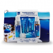 Luxurious Santorini Suncare Travel Toiletry Bag 5τμχ