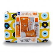 Luxurious Suncare Travel Toiletry Bag 5τμχ