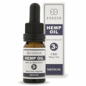 Endoca Hemp Oil Drops 300mg CBD 3% Mint & Chocolate 10ml