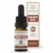 Endoca Hemp Oil Drops 1500mg CBD 15% Mint & Chocolate 10ml