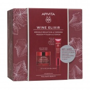 Apivita Promo Pack Wine Elixir Κρέμα Πλούσιας Υφής 50ml & ΔΩΡΟ Κρέμα Ματιών 15ml