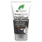Dr.Organic Charcoal Face Scrub 125ml