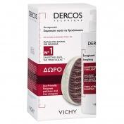 Vichy Dercos Shampoo Energisant 400ml & ΔΩΡΟ Eco-Friendly Βούρτσα Μαλλιών