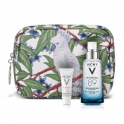 Vichy Promo Pack Mineral 89 Booster 50ml & ΔΩΡΟ Capital Soleil SPF50 UV-Age Daily Sun Cream 3ml & Υπέροχο Νεσεσέρ