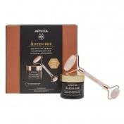 Apivita Promo Pack Queen Bee Κρέμα Πλούσιας Υφής 50ml & ΔΩΡΟ Face Roller