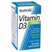 Health Aid Vitamin D3 2000iu 120tabs
