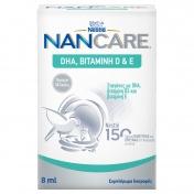 Nestle NANCARE DHA Βιταμίνη D & E 8ml