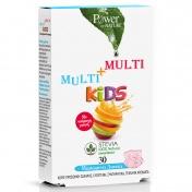 Power Health Multi+Multi Kids Stevia 30 Μασώμενα Δισκία
