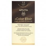 Apivita My Color Elixir Μόνιμη βαφή Μαλλιών N7.3 Ξανθό χρυσό