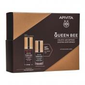 Apivita Promo Pack Queen Bee Ορός Ολιστικής Αντιγήρανσης 30ml & ΔΩΡΟ Κρέμα Ματιών 15ml