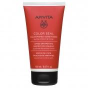 Apivita Color Seal Color Protect Conditioner με Πρωτεΐνες Κινόα & Μέλι 150ml
