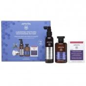 Apivita Promo Pack Rescue Hair Loss Kit for Men με Τονωτικό Σαμπουάν για Άνδρες 250ml, Λοσιόν κατά της Τριχόπτωσης 150ml & Κάψουλες για Υγιή Μαλλιά & Νύχια 30caps