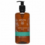 Apivita Eco Pack Refreshing Fig Shower Gel με Αιθέρια Έλαια 500ml