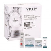 Vichy Promo Pack Liftactiv Supreme Normal to Combination Skin 50ml & ΔΩΡΟ Mineral 89 4ml, Epidermic Filler 10ml & Night Cream 15ml
