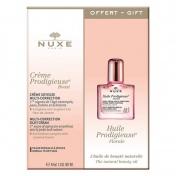Nuxe Creme Prodigieuse Boost Day Creme για Κανονικές - Ξηρές Επιδερμίδες 40ml & ΔΩΡΟ Huile Prodigieuse Florale 10ml