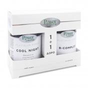 Power Health Platinum Range Cool Night 30caps & ΔΩΡΟ B-Complex 20tabs - Promo Pack 1+1