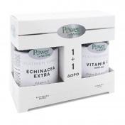 Power Health Platinum Range Echinacea Extra 30caps & ΔΩΡΟ Vitamin C 1000mg 20tabs - Promo Pack 1+1