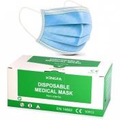KINGFA Μάσκες Προστασίας 3ply Medical Type 50τμχ (EN 14683:2019 Type II)
